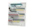 Rogy F�rmonterad Central 3-radig 54 moduler Inkl. Vit d�rr