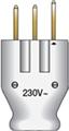 Norwesco Stickpropp 2-pol 25A med jord 230V