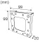 Hide-a-lite Cube Distans