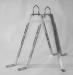 Väggfäste 50-75cm för maströr upp till 50mm