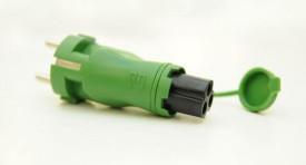 Defa Adapter Grön IP44