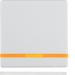 Berker Q.1/Q.3 Enkelvippa med lins