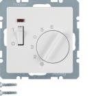 Berker Q.1/Q.3 Rumstermostat NC-kontakt