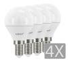 Airam LED Klot E14 4-pack 3,5W/5,5W