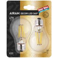 Airam Decor Filament LED E27 | 2-pack