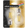 Airam Decor Filament LED E27 | 2-pack