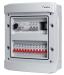 Rogy Central IP65 2-radig 24 moduler