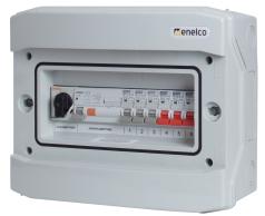 Rogy Central IP65 1-radig 12 moduler Inkl. Rökfärgad dörr
