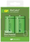 GP Recyko Laddningsbara Batteri 2-pack C 3000mAh
