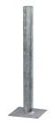 Garo Rörstolpe Ø60mm med fästplatta