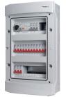 Rogy Central IP65 3-radig 36 moduler
