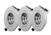 Designlight QB-301MW/QB-302MW/QB-303MW 3-pack