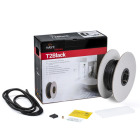 T2Black-12 Golvvärmekabel utan termostat