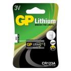 Kamerabatteri Lithium CR123A 3V 1-pack
