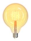 Deltaco Smart Home WiFi LED Filament G125 E27 5,5W Dim