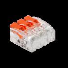 Kopplingsklämma Snabbanslutning 3x0,2-4mm²
