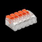 Kopplingsklämma Snabbanslutning 5x0.2-4mm²