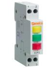Signallampa 3-pol 230V Norm 1-modul