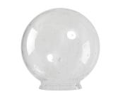 Glasglob (Ø 300mm) klar blåsig