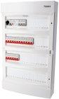 Rogy Förmonterad Central 4-radig 72 moduler Inkl. Vit dörr