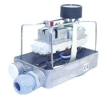 Kopplingsbox med styrutrustning